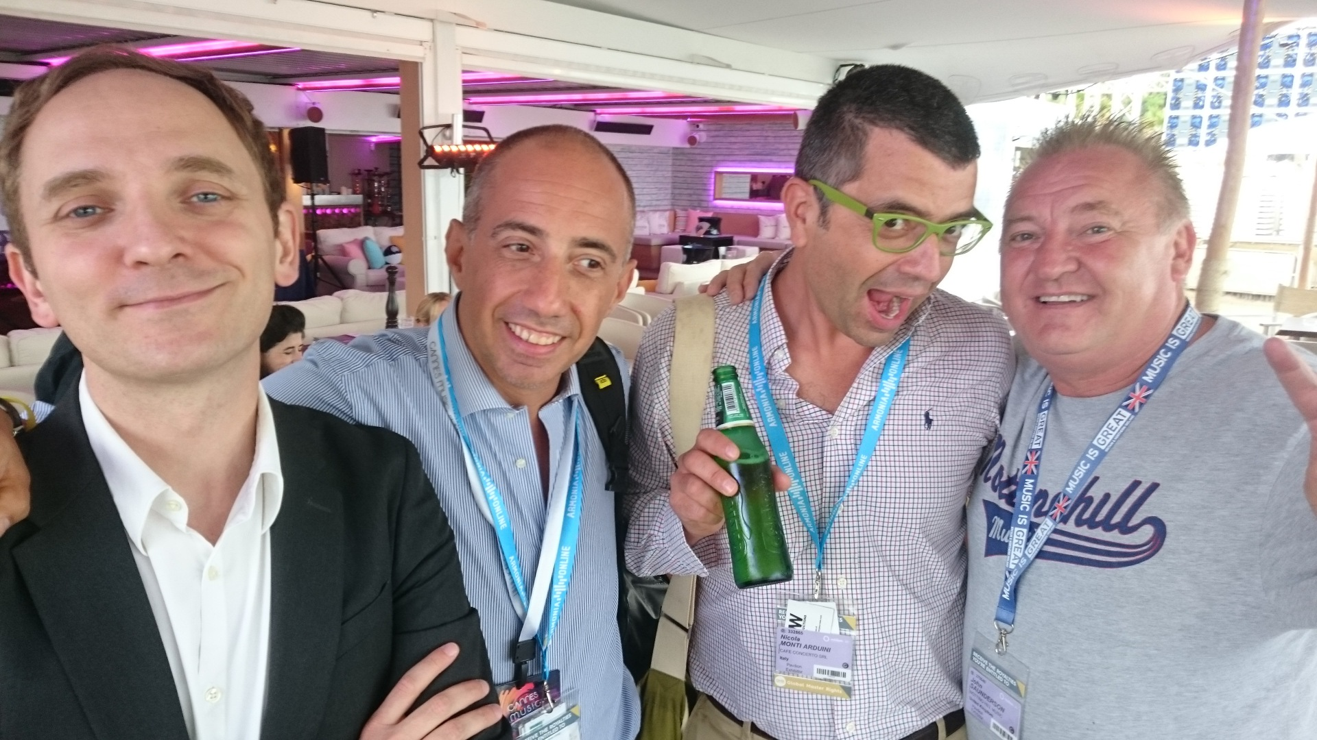 MIDEM with the Italians!